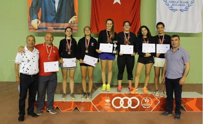 Okul Sporları Gençler Türkiye Tenis Şampiyonası Sona Erdi