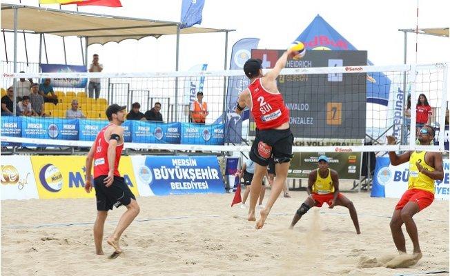 'Plaj Voleybol Dünya Turu 3 Yıldızlı Mersin' Sona Erdi