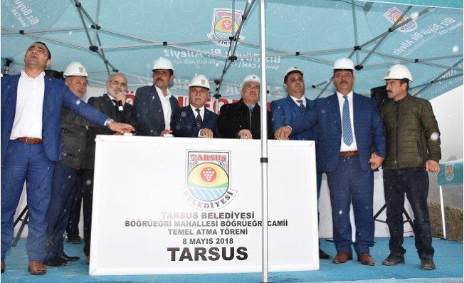 Tarsus'ta Terliktepe Camisi'nin Temeli Atıldı