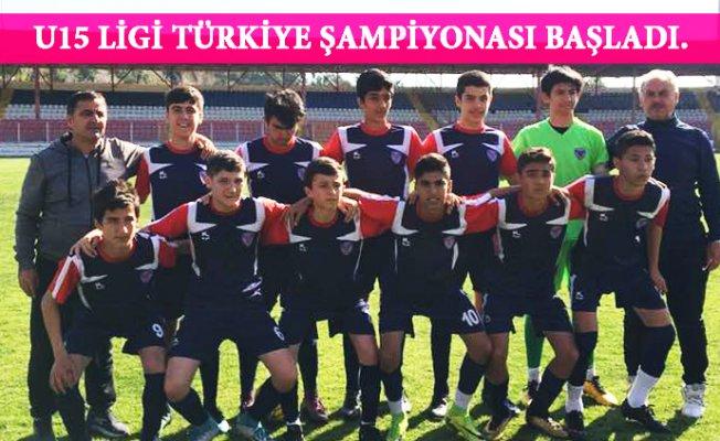 U15 Türkiye Şampiyonası Başladı.