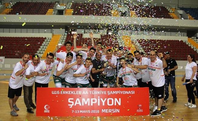 U16'da Banvit Basketbol Şampiyon