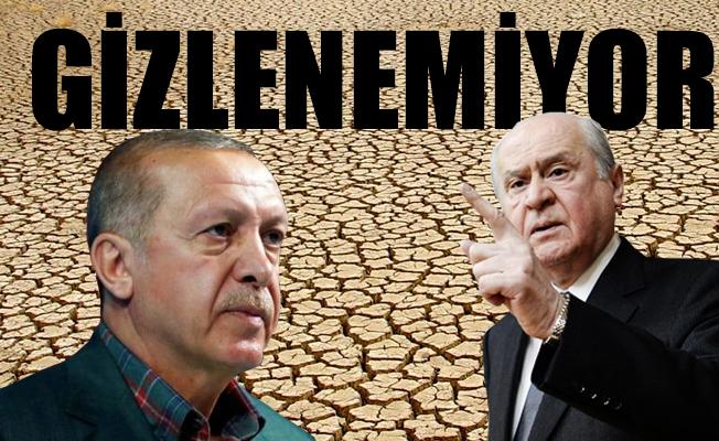AKP-MHP Arasındaki İttifak Çatlağı Gittikçe Büyüyor