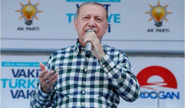 Cumhurbaşkanı Erdoğan Mersin'de 50 Bin Kişiye İş Sözü Verdi.
