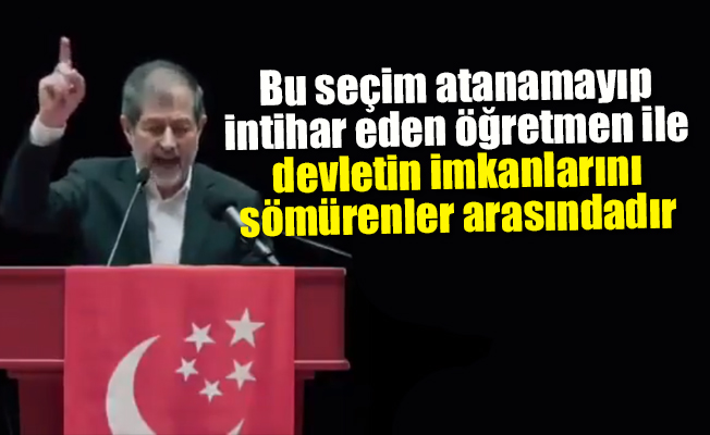 Saadet Partisi'nden AKP'yi Sarsacak Video