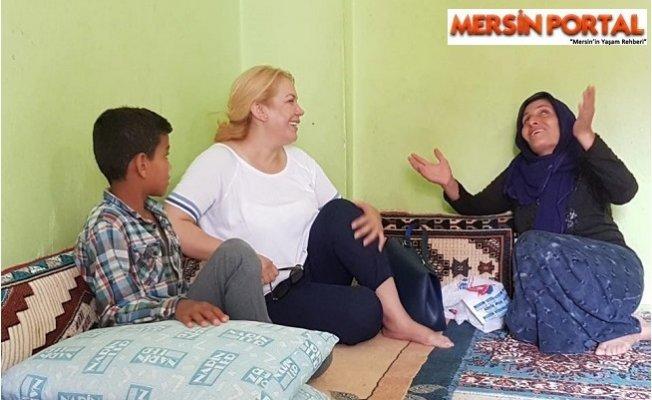 Saliha Adıcan'dan Bayram Ziyaretleri