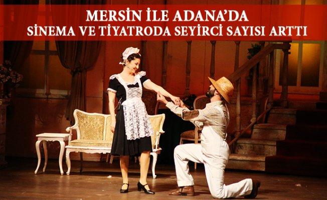 Sinema Salonlarının Sayısı Mersin'de %8,4 Arttı.