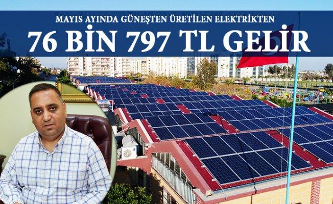 Tarsus Belediyesi Pazarların Çatısından Elektrik Elde Ediyor