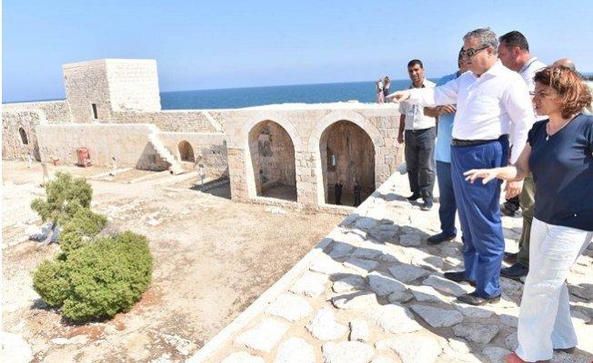 Vali Su Turizm Bölgelerinde İncelemelerde Bulundu