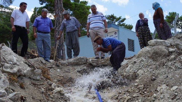 78 Yıllık Su hasreti Son Buldu