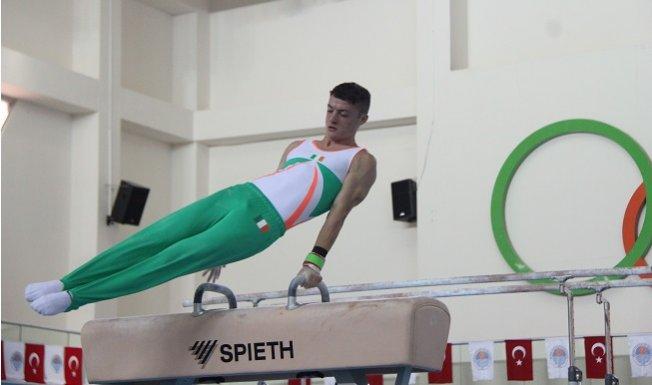 Artistik Cimnastik Dünya Kupası Mersin'de Başladı
