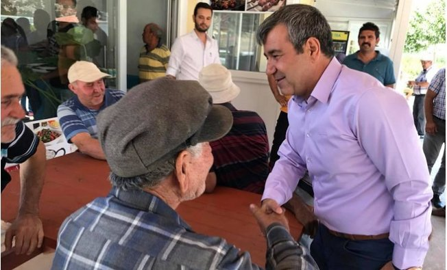 Başkan Yılmaz'dan Kırsal Mahalle Ziyaretleri