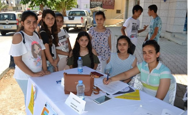 Bozyazı'da Tercih Danışmanlık Noktası Açıldı