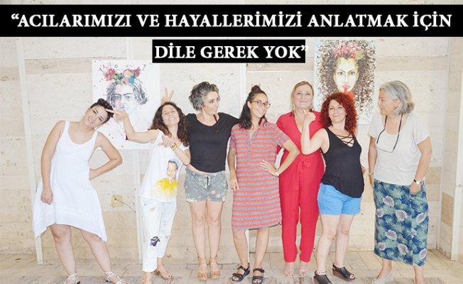 Kadın Ressamlar Barışı Çizdi
