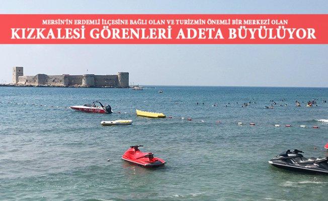 Mersin'de Denizin Ortasındaki 2400 Yıllık Kale Büyülüyor