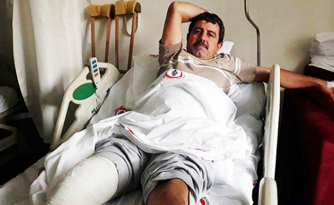Mersin'de İş Kazası Geçiren İşçiye 'Şikayetçi Olma' Diyip Mağdur Ettiler