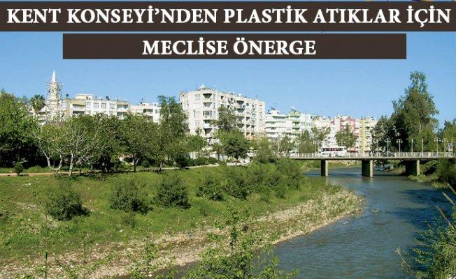 Mersin'de Plastik Atıklar İçin Önerge