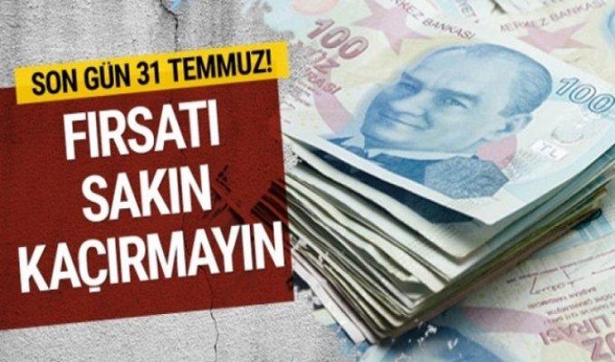 Mersin'de Vergi Borcu Yapılandırması İçin Son Gün...