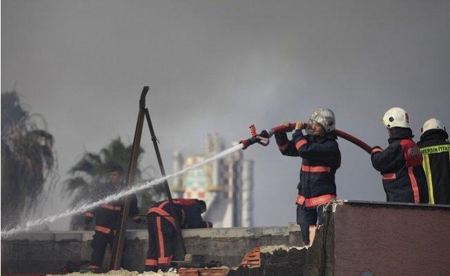 Mersin İtfaiyesi 6 Ayda 2 Bin 442 Yangına Müdahale Etti