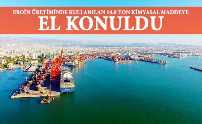 Mersin Limanında Milyonluk Uyuşturucu Operasyonu
