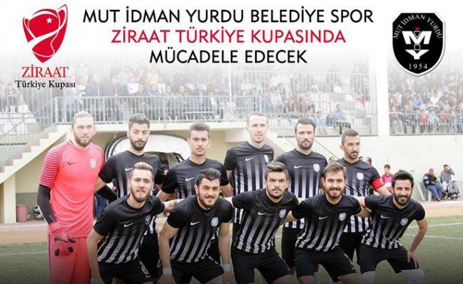 Mut İdmanyurdu Ziraat Türkiye Kupası'nda Mücadele Edecek.