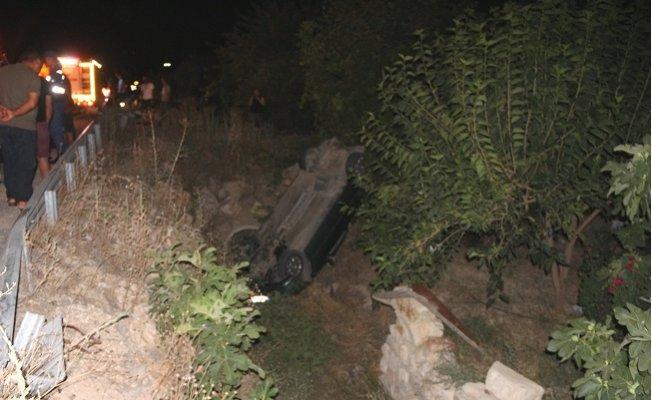 Mut'ta Trafik Kazası: 4 Yaralı
