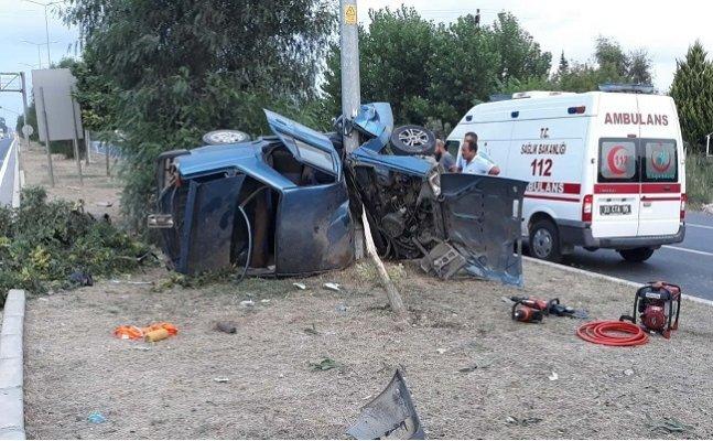 Tarsus'ta Trafik Kazaları: 2 Ölü, 2 Yaralı