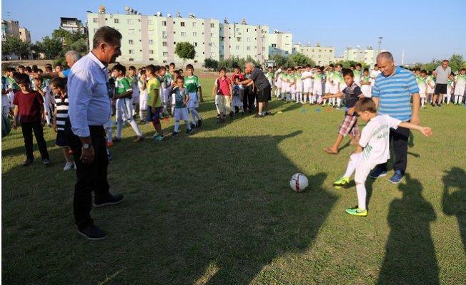 Toroslar'da 10 Bin Çocuk Yaz Spor Okullarına Katıldı