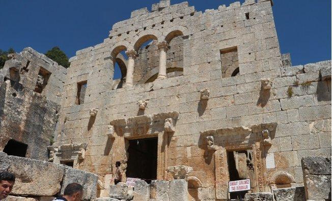 Alahan Manastırı Mersin Turizminin Yeni Umudu