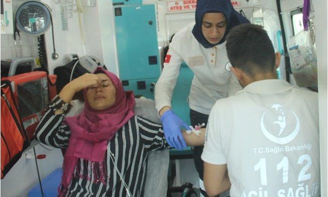 Alışveriş Yapmadı Diye Suriyeliler Kadının Burnunu Kırdılar