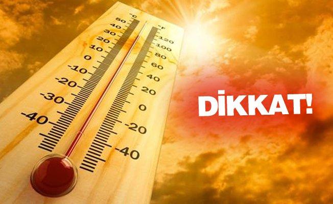Mersin Aman Dikkat; Afrika, Cehennem ve Çöl Sıcakları Geliyor…