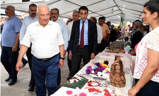 Mersin Çamlıyayla'da 4. İğne Oyası Festivali