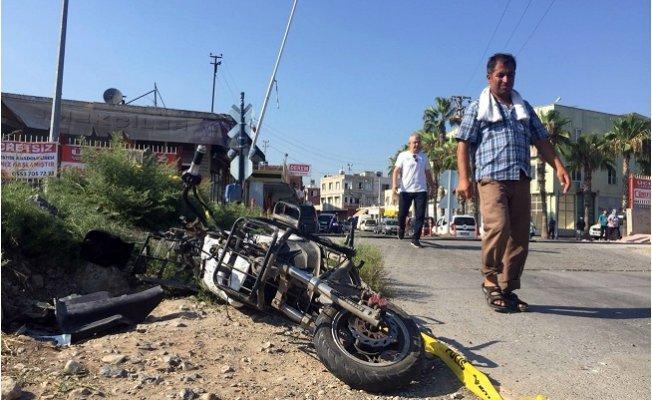 Mersin'de 1 Kişinin Öldüğü, Tren Kazası Kamerada