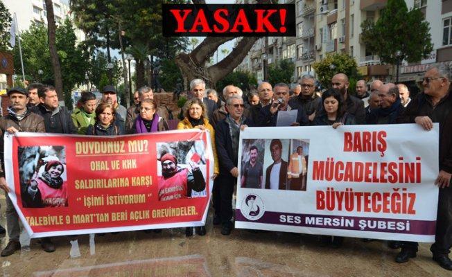 Mersin'de Bu Noktaların Dışında Açıklama Yapmak Yasak