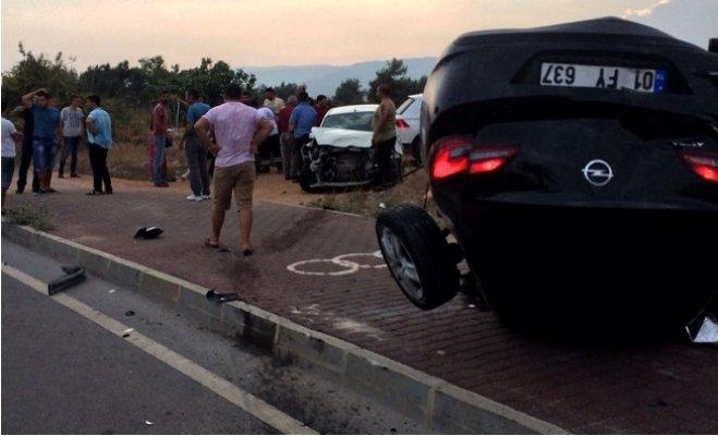 Mersin'de Feci Kaza: 1'i Çocuk 4 Yaralı
