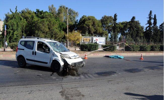 Mersin'de Ölümlü Kaza Kamerada