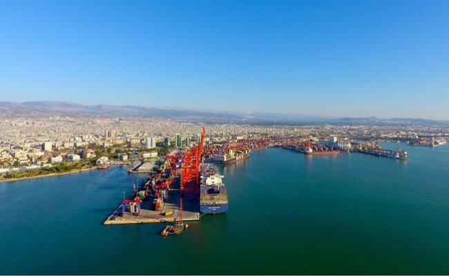 Mersin Limanı Kapasite Artırımına Gidiyor