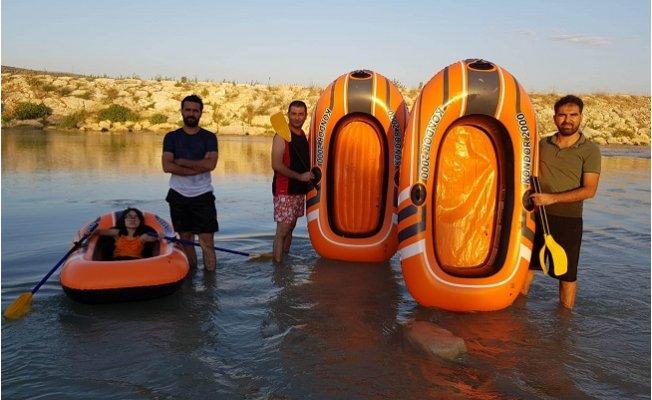Mut Göksu Irmağı'nda Üçüncü Rafting Heyecanı