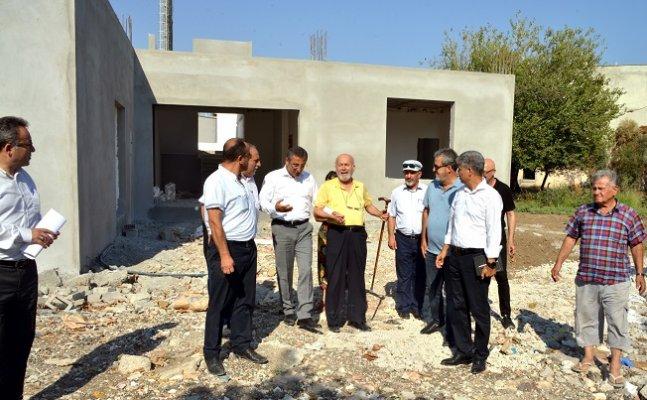 Karaduvar Kültür Merkezi İnşaatında Sona Gelindi