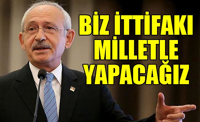 Kılıçdaroğlu: Vatandaşımız CHP'nin Adayına Oy Verecek