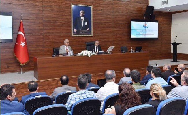 Mersin'de 2018-2019 Eğitim-Öğretim Yılı Güvenlik Toplantısı Yapıldı