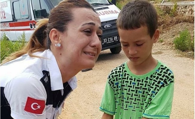 Mersin'de Ağlatan Karşılama