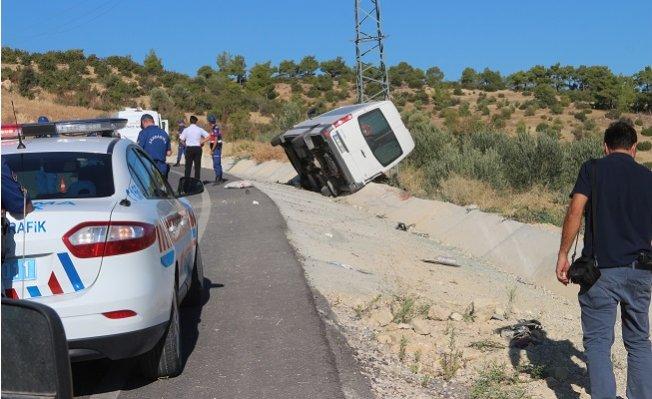 Mersin'de Cenaze Dönüşü Kaza: 1 Ölü, 6 Yaralı