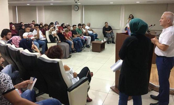 Mersin'de Geliştirme Eğitimleri Verildi