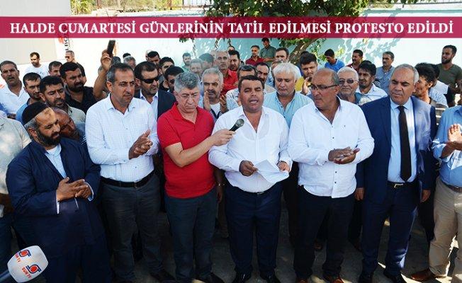 """Mersin'de Pazarcılardan Tatil Tepkisi; """"Yargıya Gideriz"""""""