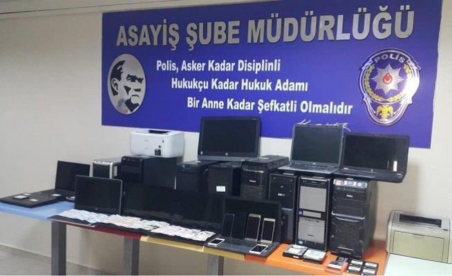 Mersin'de Yasa Dışı Bahis Operasyonu: 17 Gözaltı