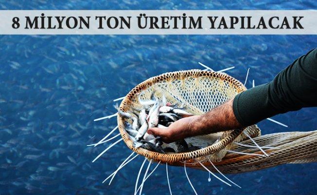 Mersin'deki Balık Çiftliklerinde Yıllık 8 Milyon Ton Balığı Yetiştirilecek.