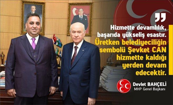 MHP Tarsus Belediye Başkan Adayı Şevket Can Oldu