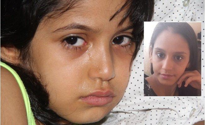 Minik Sebiha Kayıp Ablası İçin Gözyaşlarına Boğuldu