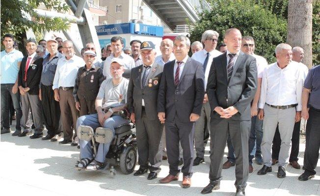 Mut'ta 19 Eylül Gaziler Günü çeşitli etkinliklerle kutlandı