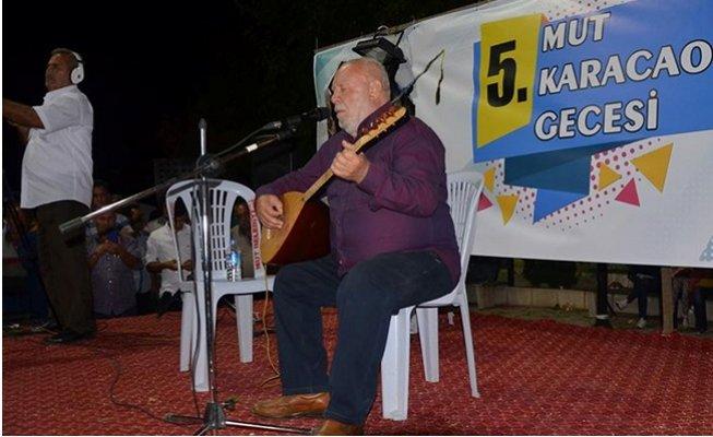 Mut'ta Karacaoğlan Gecesi